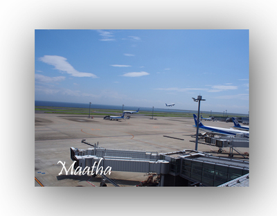 羽田空港ANA離陸写真201408